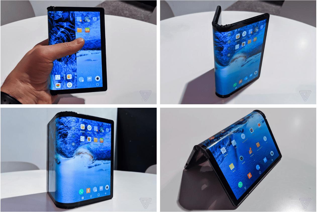 消费保_消费新闻_ CES展丨外媒上手国内首款折叠柔性手机,看看他们是怎么说